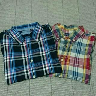 ギャップ(GAP)のGAP半袖チェックシャツ♡2set(シャツ/ブラウス(半袖/袖なし))