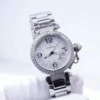 カルティエ(Cartier)のカルティエ Cartier 腕時計 レディース ルバー文字盤(腕時計)