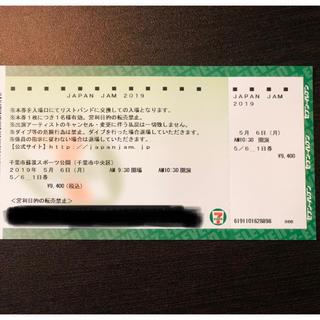 JapanJAM チケット 5/6(音楽フェス)