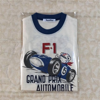 ファミリア(familiar)の新品未使用    familiar    Tシャツ   size  100cm(Tシャツ/カットソー)
