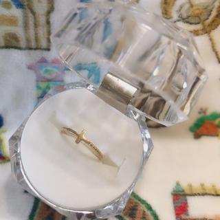 ジュエティ(jouetie)のピンキーリング     指輪    リング    jouete  3号  k10(リング(指輪))