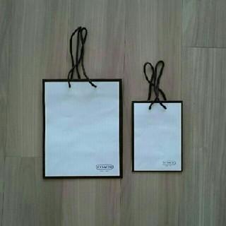 コーチ(COACH)のCOACH 紙袋 2枚セット(ショップ袋)