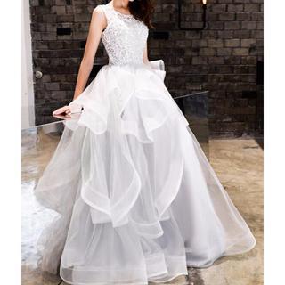 ロングドレス 銀灰色(ロングドレス)