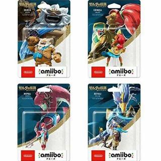 ニンテンドースイッチ(Nintendo Switch)の送料込amiiboアミーボ ウルボザ ダルケル ミファー リーバル 4人の英傑(ゲームキャラクター)
