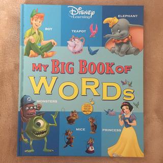 ディズニー(Disney)のmy  big book of words (洋書)