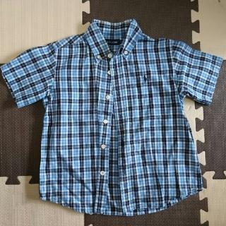 ラルフローレン(Ralph Lauren)のラルフローレン 半袖 チェックシャツ 110(Tシャツ/カットソー)