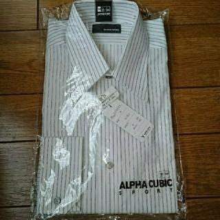 アルファキュービック(ALPHA CUBIC)の新品・未使用 長袖カッターシャツワイシャツ(シャツ)