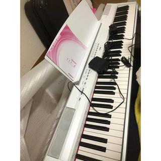 ヤマハ(ヤマハ)のヤマハ 電子ピアノ P115 ホワイト yamaha 88鍵(電子ピアノ)