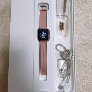 アップルウォッチ(Apple Watch)のapple watch series2 38mm ローズゴールド ピンク(腕時計(デジタル))