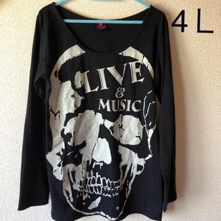 長袖トップス 4L(Tシャツ(長袖/七分))