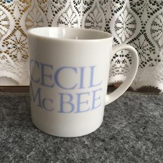 セシルマクビー(CECIL McBEE)の☆セシル☆ロゴ入りマグカップ(グラス/カップ)