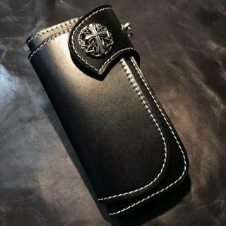 長財布 新品 メンズ 財布 手縫いハンドメイド コンチョ長財布(名刺入れ/定期入れ)