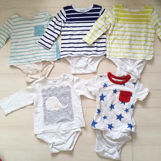 ベビーギャップ(babyGAP)のベビーギャップ baby gap  トップス 5点セット  (Tシャツ/カットソー)