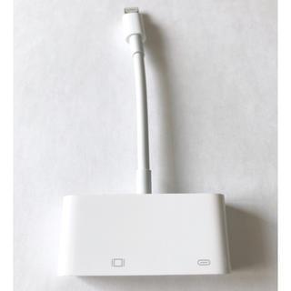 アップル(Apple)のApple既製品 アダプター(映像用ケーブル)