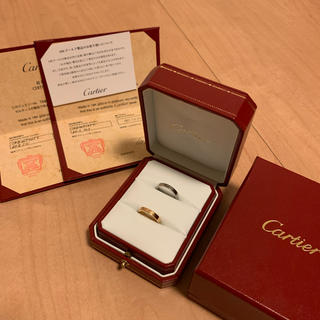 カルティエ(Cartier)のカルティエ 指輪  Cartier リング ペア(リング(指輪))