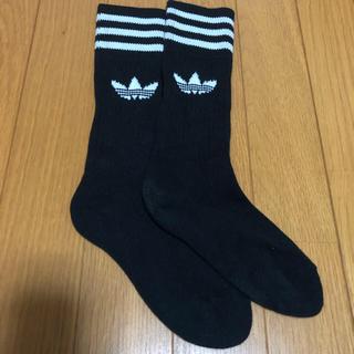 アディダス(adidas)のアディダス 靴下 ブラック(ソックス)