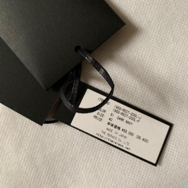 DEUXIEME CLASSE(ドゥーズィエムクラス)の2019SS THE RERACS モッズコート ダークネイビー レディースのジャケット/アウター(モッズコート)の商品写真