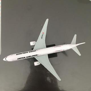 ジャル(ニホンコウクウ)(JAL(日本航空))の飛行機の模型 JAL 機内でもらいました(航空機)