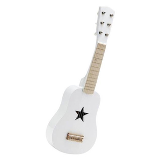 ボンポワン(Bonpoint)の【新品】Kids Concept☆子供用ギター(ホワイト)☆北欧(楽器のおもちゃ)