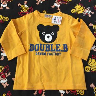 ダブルビー(DOUBLE.B)の新品タグ付き ダブルビー ロンT(シャツ/カットソー)