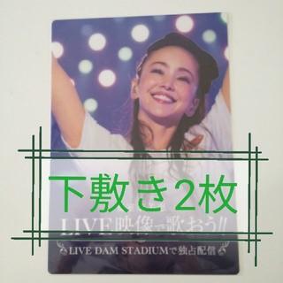 安室奈美恵 非売品 下敷き 2点セット(女性タレント)