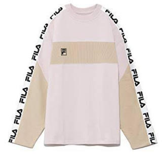 スナイデル(snidel)の最終値下げ SNIDEL FILAコラボ ロンT ピンク(Tシャツ(長袖/七分))