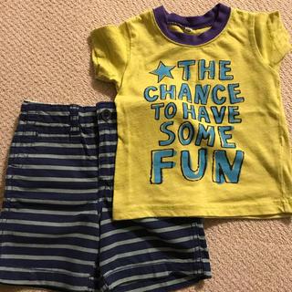 ベビーギャップ(babyGAP)のTシャツ、半ズボンセット(Tシャツ/カットソー)