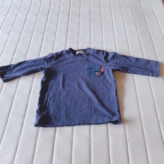 ダブルビー(DOUBLE.B)の長袖シャツ70センチ(シャツ/カットソー)