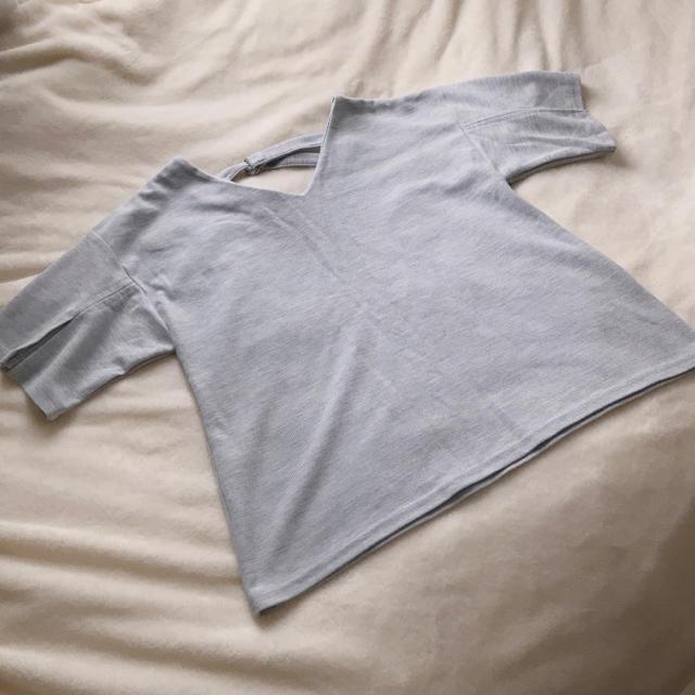 しまむら(シマムラ)のしまむら デザインカットソー レディースのトップス(カットソー(半袖/袖なし))の商品写真