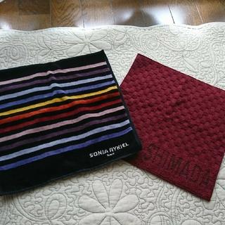 ジュンコシマダ(JUNKO SHIMADA)の有名ブランド タオルハンカチ 2枚(ハンカチ)