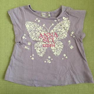 アナスイミニ(ANNA SUI mini)のANNA SUI アナスイ ミニ Tシャツ 80(Tシャツ)
