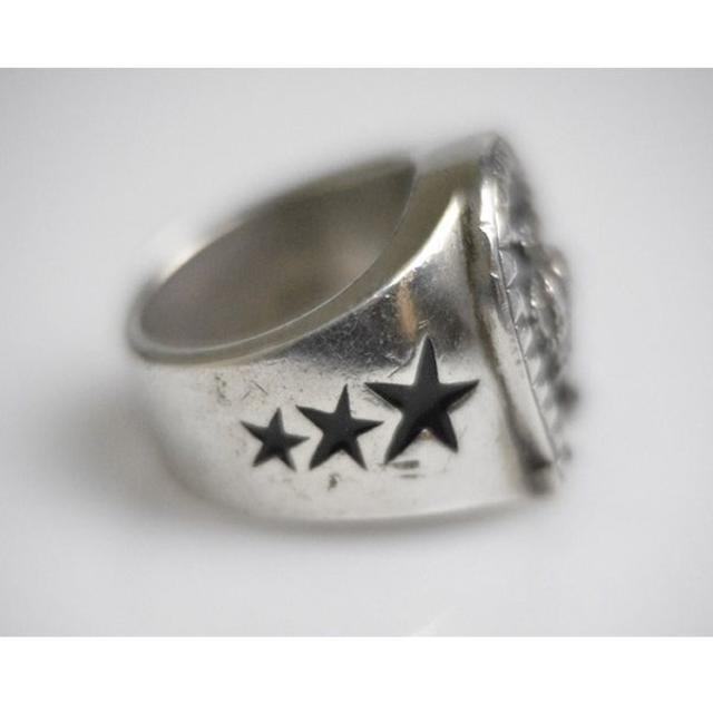 Justin Davis(ジャスティンデイビス)のジャスティンデイビス ラックスターリング 21.0g 11号 メンズのアクセサリー(リング(指輪))の商品写真