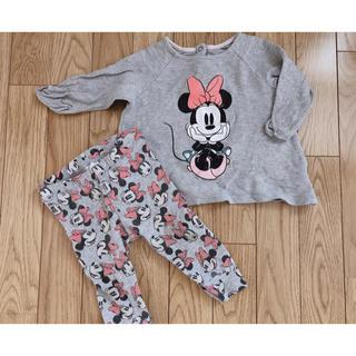 H&M - H&M ミニーちゃんセットアップ パジャマ