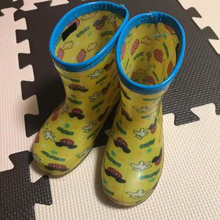 ディズニー(Disney)の【キッズ】長靴/レインブーツ ミッキー 15㎝ ディズニー(長靴/レインシューズ)