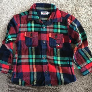 ダブルビー(DOUBLE.B)のダブルビー   シャツ  100       ミキハウス (Tシャツ/カットソー)