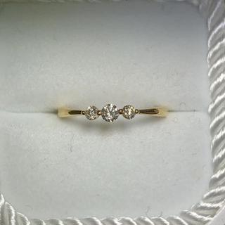 K18ダイヤモンドリング(リング(指輪))