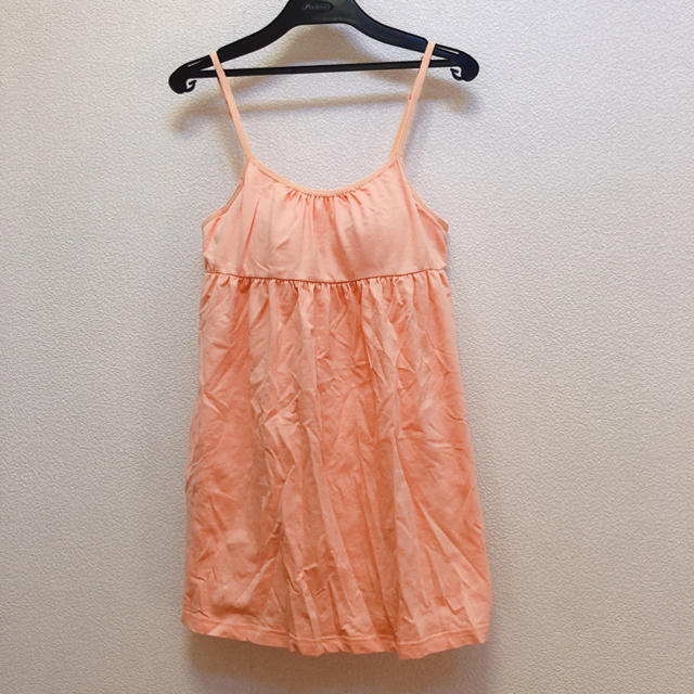 しまむら(シマムラ)のオレンジ カップ付きキャミソール Lサイズ レディースのトップス(キャミソール)の商品写真
