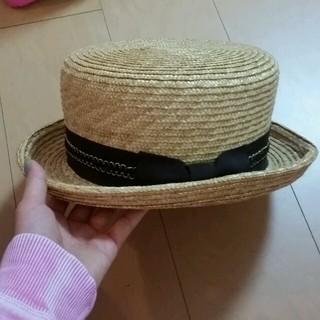 ワンスポ(one spo)のワンスポ♥カンカン帽(麦わら帽子/ストローハット)