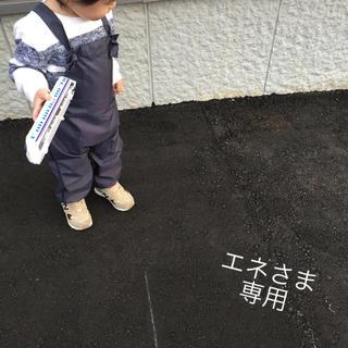 おしゃれサロペットなプレイウェア♡チャコールグレー(レインコート)