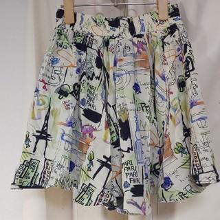 スカラー(ScoLar)のscolar スカート カラフル スカラー(ミニスカート)