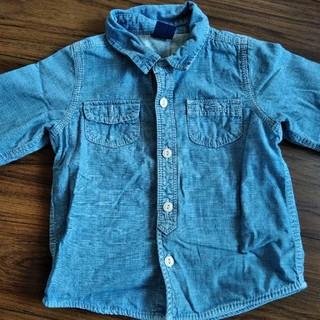 ベビーギャップ(babyGAP)のベビーギャップ 長袖シャツ(Tシャツ/カットソー)