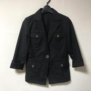 ザジ(ZAZIE)の【ZAZIE】七分袖 ジャケット  (テーラードジャケット)