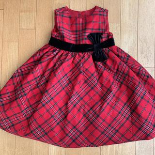 GYMBOREE - ジンボリー ワンピース ドレス 赤 100 110 4T