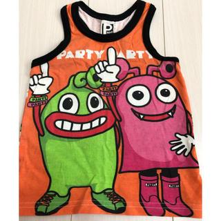 パーティーパーティー(PARTYPARTY)のPARTY PARTY タンクトップ 100cm(Tシャツ/カットソー)