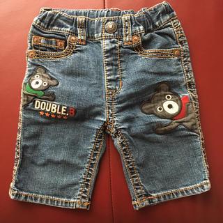 ダブルビー(DOUBLE.B)のミキハウス ダブルB デニム パンツ 90cm(パンツ/スパッツ)