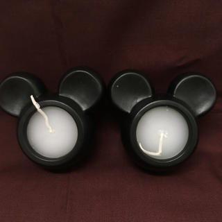 ディズニー(Disney)のキャンドル ミッキー 2個セット(キャンドル)