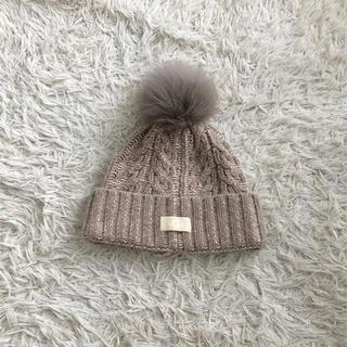 アグ(UGG)のニット帽(ニット帽/ビーニー)