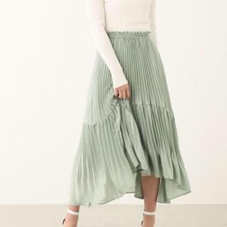 rienda - rienda♡フレアプリーツスカート