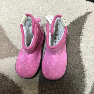 女児用ブーツ(13cm新品)(ブーツ)