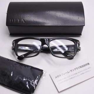 ディータ(DITA)のDITA ディータ 眼鏡 メガネ ブラック シルバー金具 中古 グランドマスター(サングラス/メガネ)